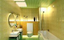 Отделка ванной комнаты пластиковыми панелями своими руками по этапно