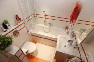 Ванные комнаты маленького размера