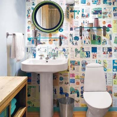 Дешевый ремонт в ванной комнате своими руками