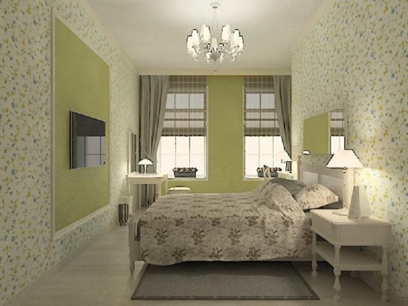 Ремонт в узких спальнях