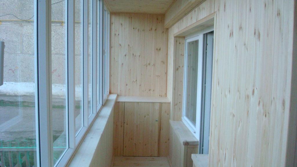 Отделка балкона своими руками, выбор материала для обшивки б.