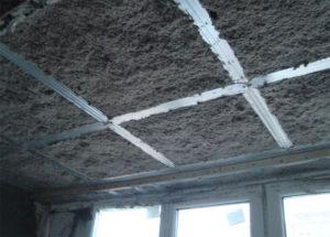 Звукоизоляция на потолке