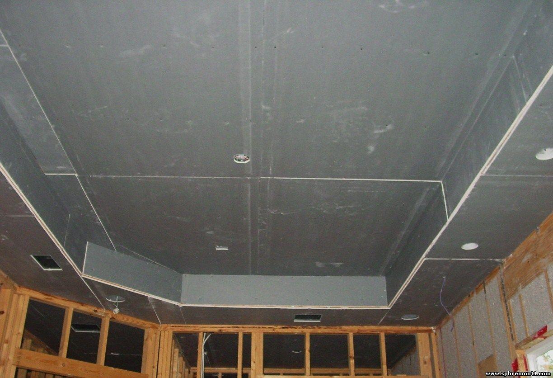 Как делать навесной потолок