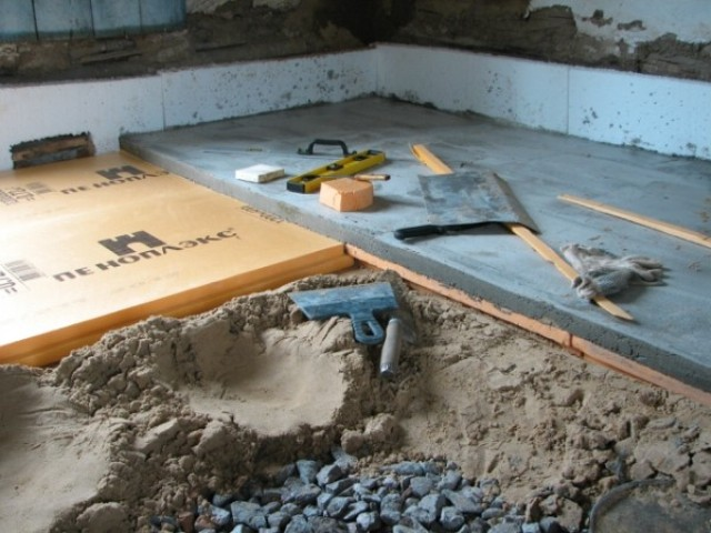 Устройство бетонного пола своими руками 9