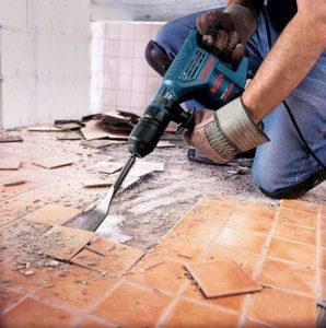 Подготовка стен и пола к ремонтным работам