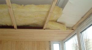 Утеплитель для потолка