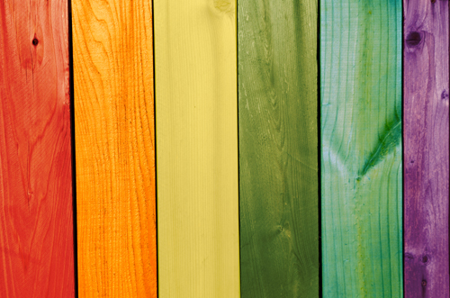 Разноцветные доски