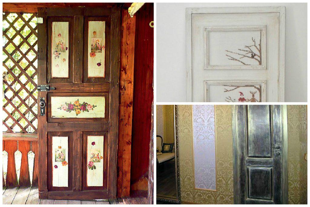 средствах как сделать старые двери красивыми фото былых аппетитных