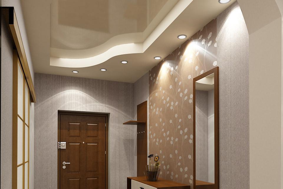 Какой потолок лучше сделать в коридоре