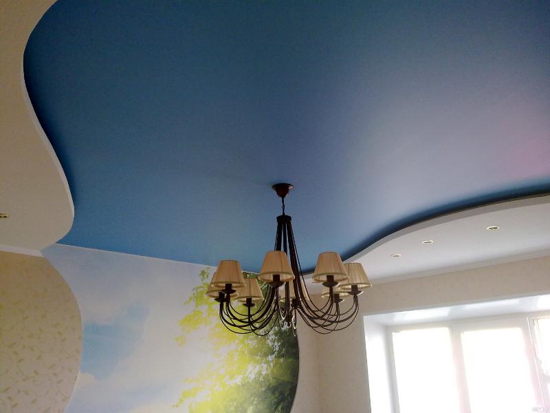 Матовый сатиновый потолок