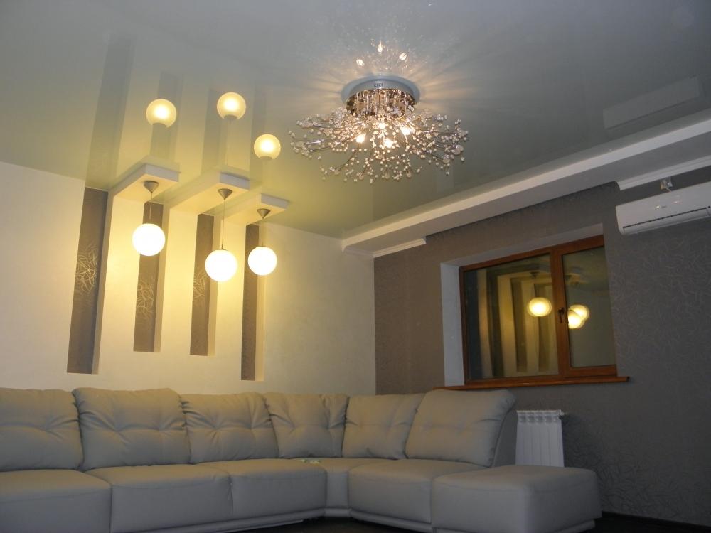 Плёночные ПВХ потолки