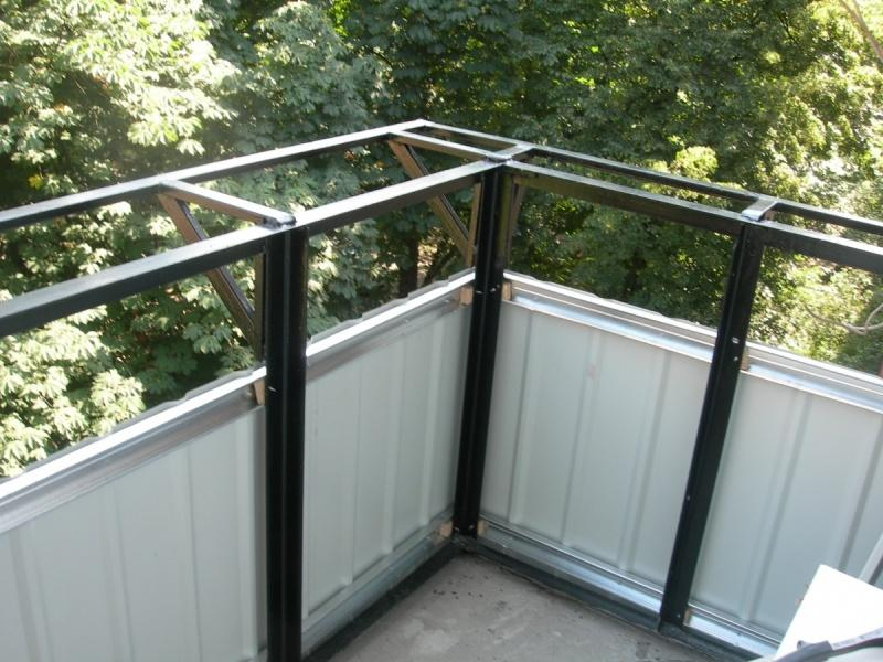Внешная обшивка балкона