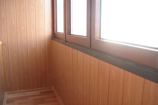 Лоджия деревянная