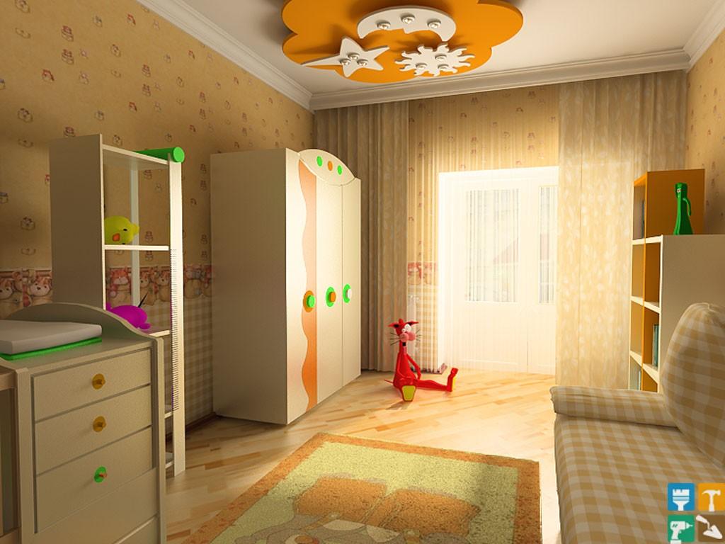 Детские комнаты своими руками эконом